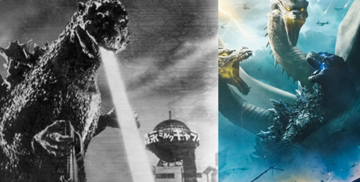 Godzilla: King of the Monsters, Then and Now