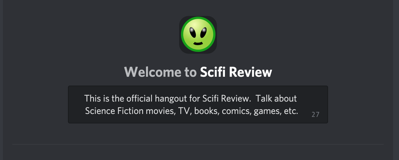 Scifi Review Discord