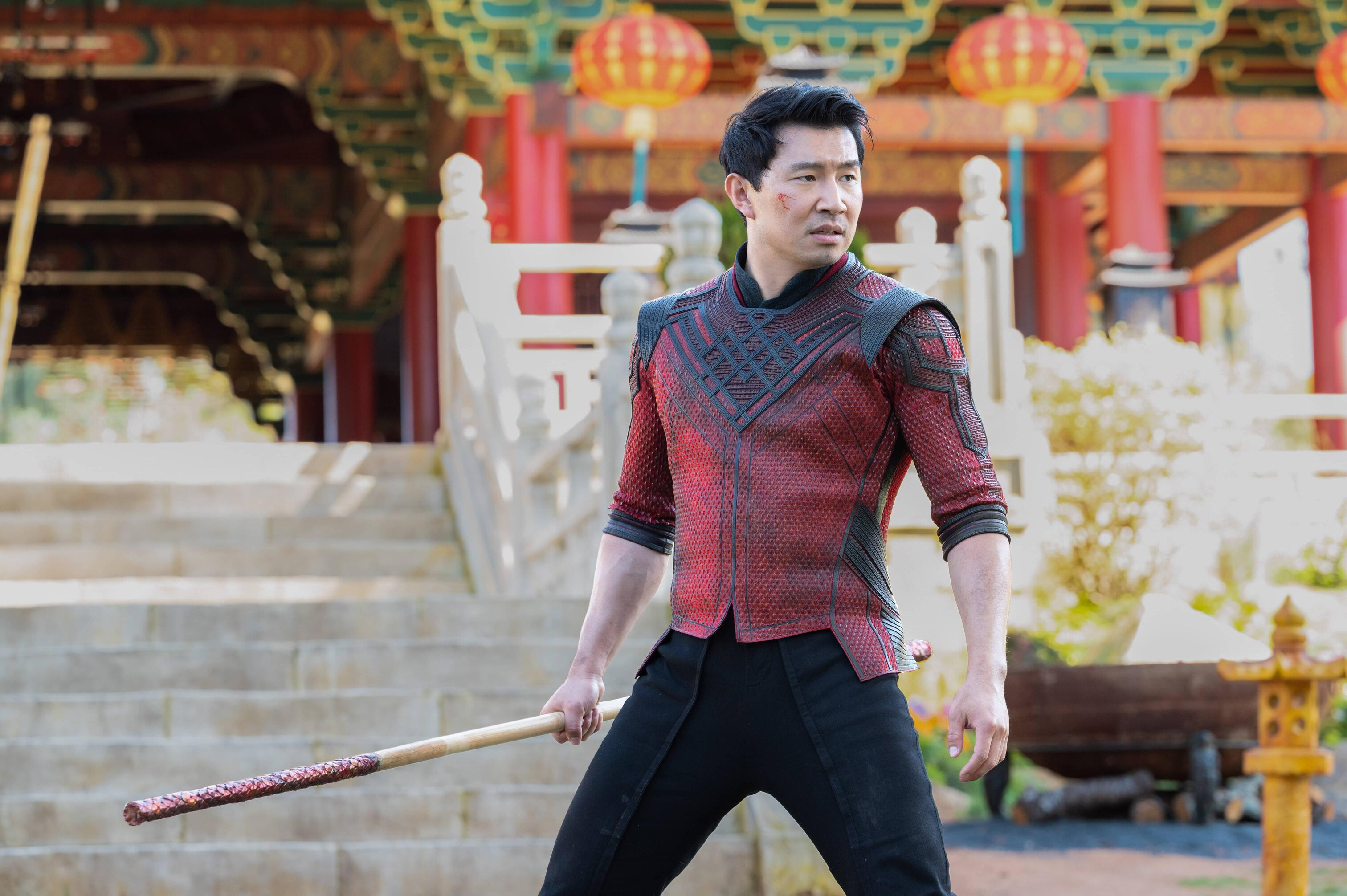 Simu Liu is Shang-Chi in Shang-Chi and the Legend of the Ten Rings